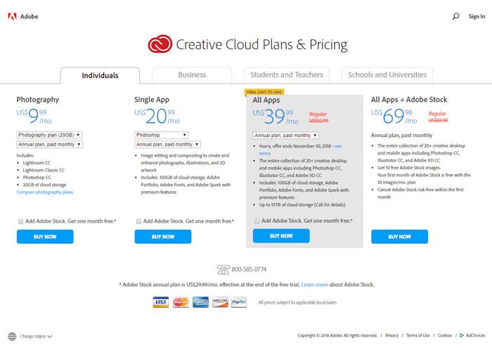 Perbedaan Adobe Photoshop Elements vs Photoshop CC